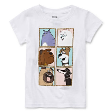 jcpenney.com | Secret Life of Pets Short-Sleeve Group Pets Tee - Toddler Girls 2t-4t