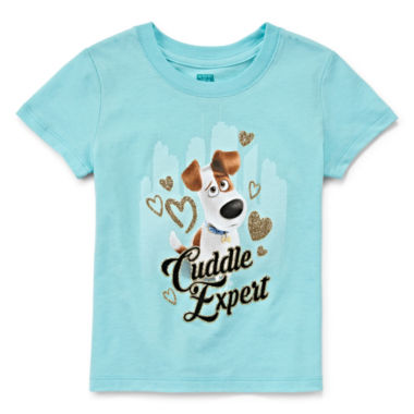 jcpenney.com | Secret Life of Pets Short-Sleeve Cuddle Xprt Tee - Toddler Girls 2t-4t