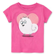 Secret Life of Pets Short-Sleeve Gidget Heart Tee - Toddler Girls 2t-4t