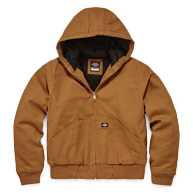 jcpenney.com | Dickies® Sanded Duck Hooded Zip Jacket - Boys 8-20