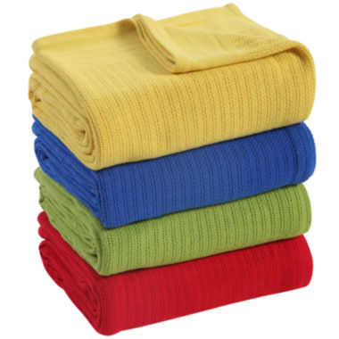 jcpenney.com | Fiesta® Thermal Cotton Blanket