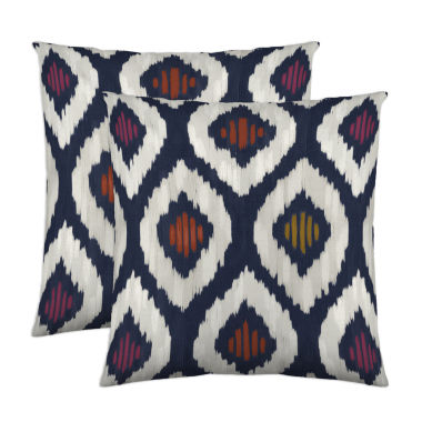 jcpenney.com | Colorfly™ Aura 2-Pack Square Decorative Pillows