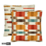 Colorfly™ Barnaby 2-Pack Square Decorative Pillows