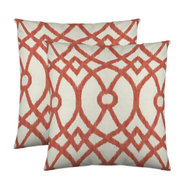 jcpenney.com | Colorfly™ Piper 2-Pack Sqaure Decorative Pillows