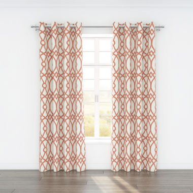 jcpenney.com | Colorfly™ Piper 2-Pack Grommet-Top Curtain Panels