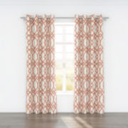 Colorfly™ Piper 2-Pack Grommet-Top Curtain Panels