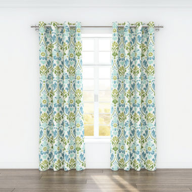 jcpenney.com | Colorfly™ Sasha 2-Pack Grommet-Top Curtain Panels
