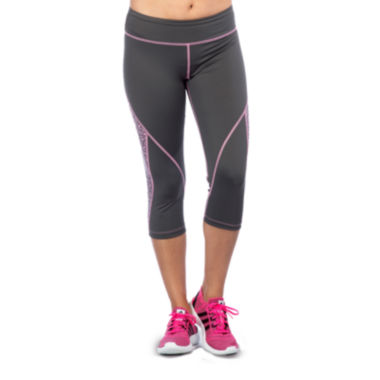 jcpenney.com | PL Movement by Pink Lotus Lace Inset Capris
