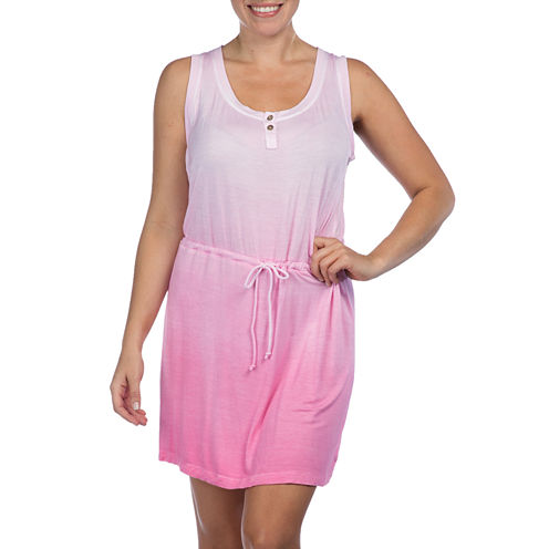 PL Movement by Pink Lotus Sleeveless Ombré Dress