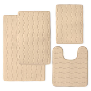 jcpenney.com | Memory Foam Bath Rug Collection