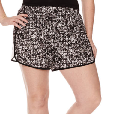jcpenney.com | Xersion™ Woven Colorblock Shorts - Plus