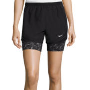 Nike® 2-In-1 Dri-FIT Tempo Running Shorts