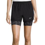 Nike® 2-In-1 Dri-FIT Tempo Running Shorts