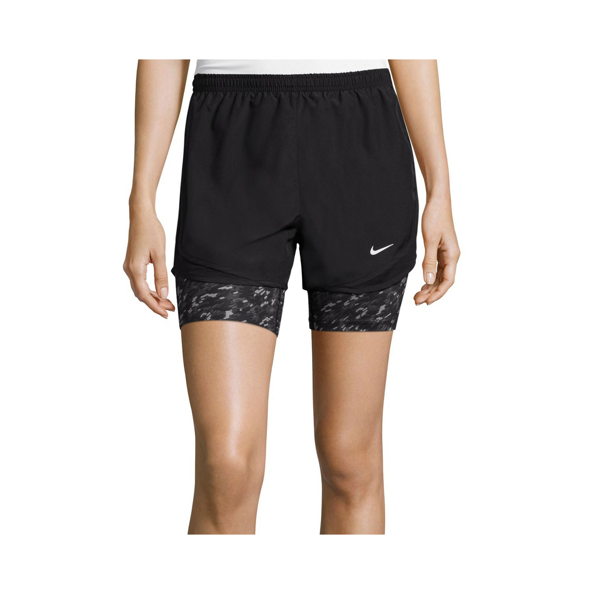 Nike womens running shorts with liner - Upc 826218280030 Product Image For Nike 2 In 1 Dri Fit Tempo Running