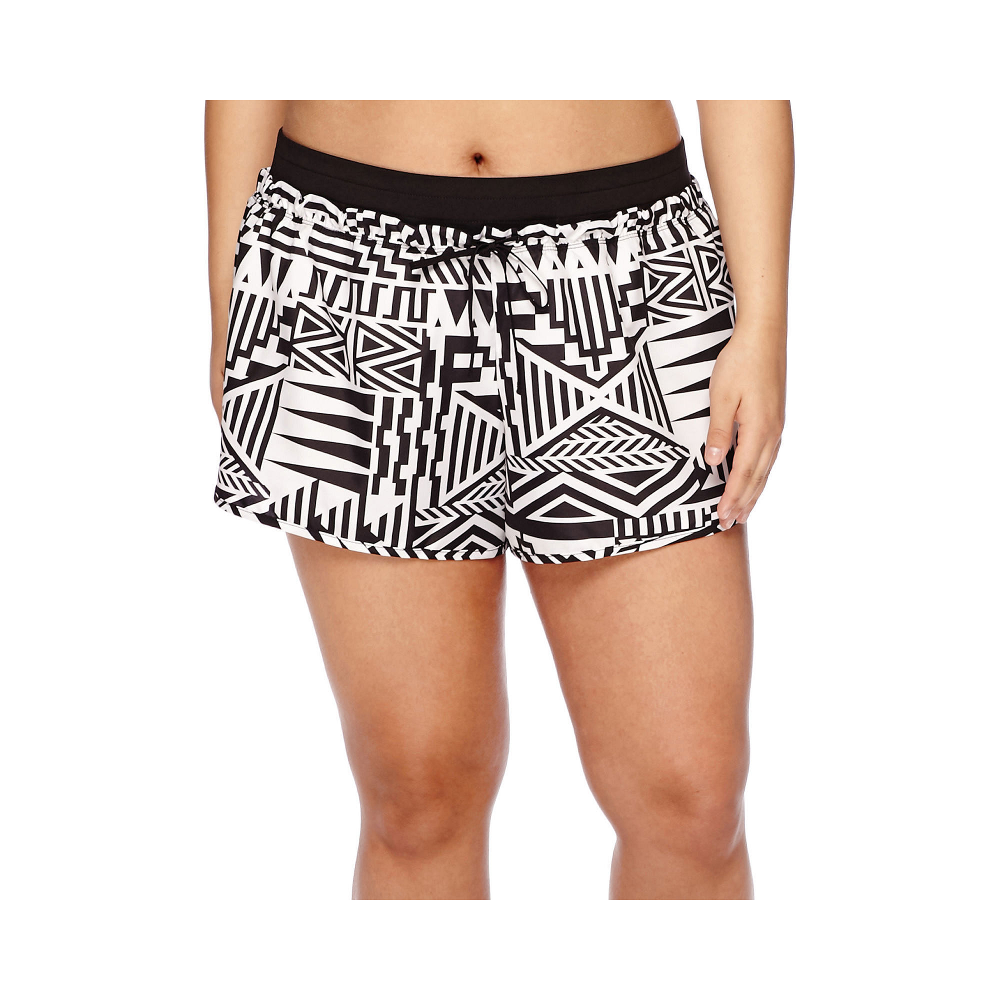 City Streets Woven Pull-On Shorts - Juniors Plus plus size,  plus size fashion plus size appare