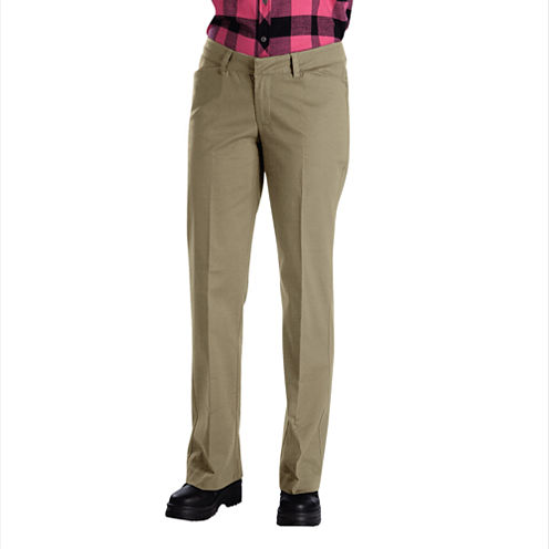 Dickies® Relaxed-Fit Straight-Leg Stretch Twill Pants - Long