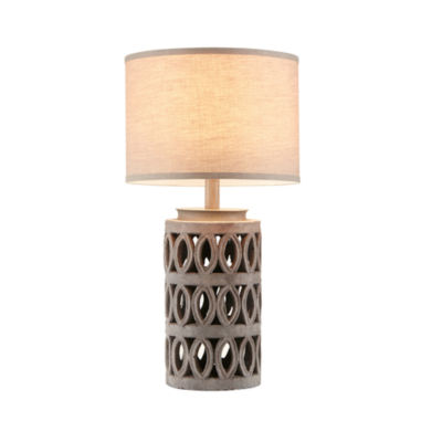 Ink ivy ambit cement table lamp jcpenney ink ivy ambit cement table lamp aloadofball Image collections