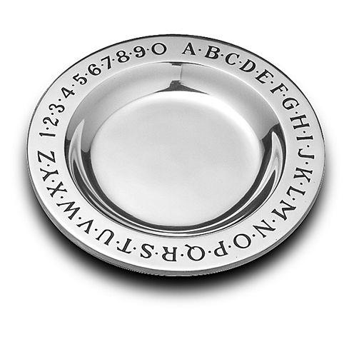 Wilton Armetale Alphabet Serving Tray