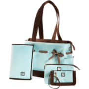 JP Lizzy Chocolate Ice Classic Tote Diaper Bag