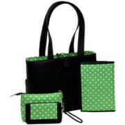JP Lizzy Sprout Tote Set