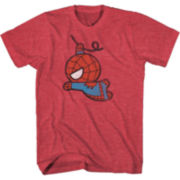 Cartoon Spiderman Tee