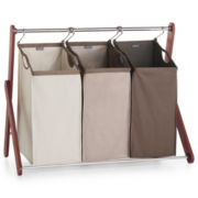 CLOSEOUT! Michael Graves Design Triple Laundry Sorter