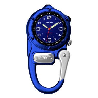 dakota mini clip microlight carabiner pocket blue