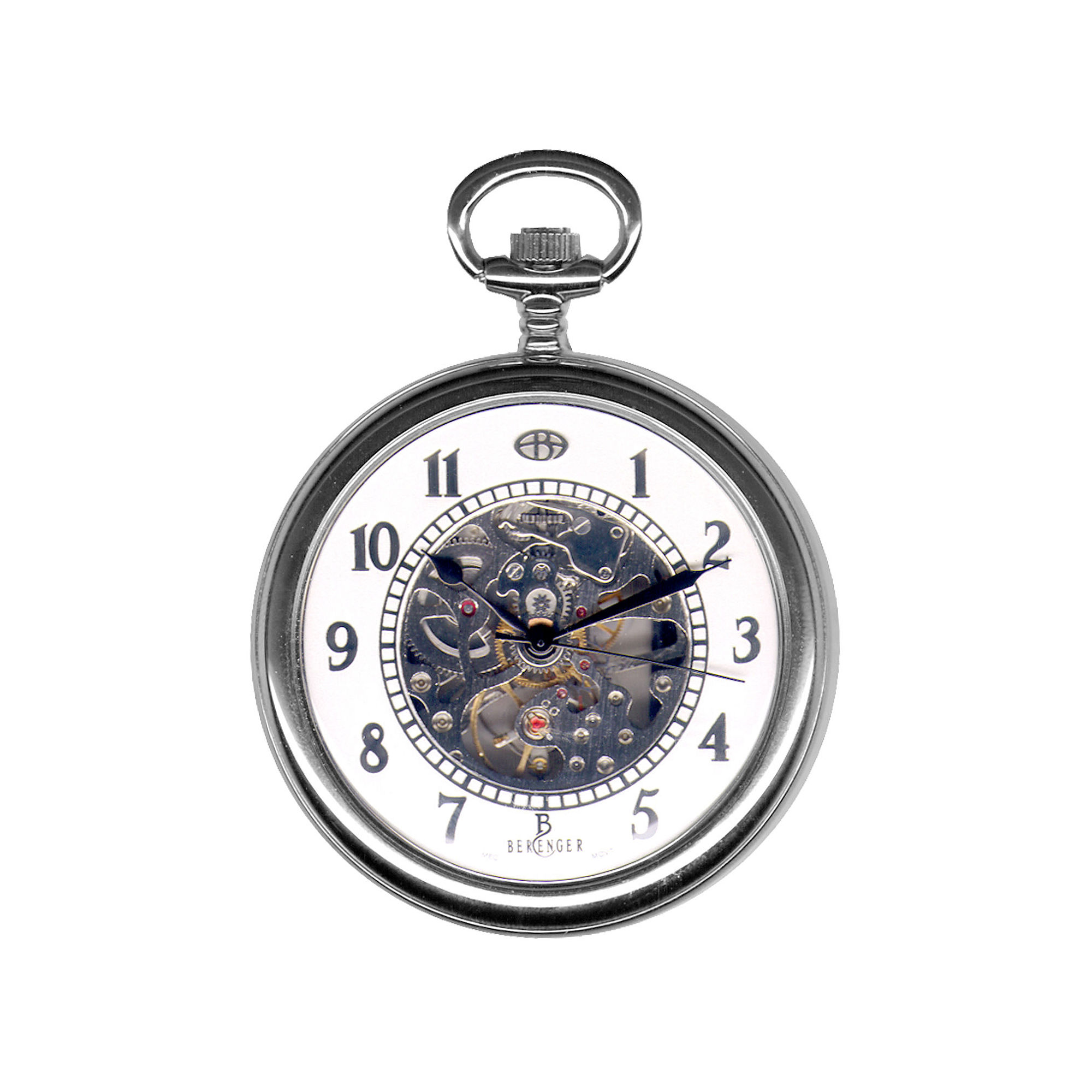 Dakota Men's Berenger Mechanical Dress Pocket Watch 33145