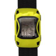 Dakota Fusion Kids Digital Yellow Car Watch 22031