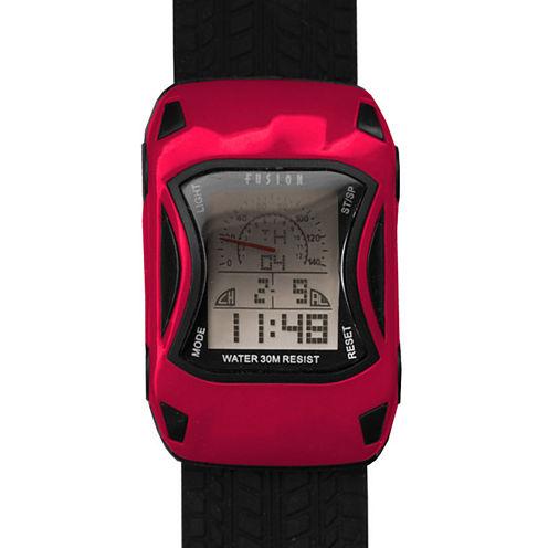 Dakota Fusion Kids Digital Red Car Watch 22040