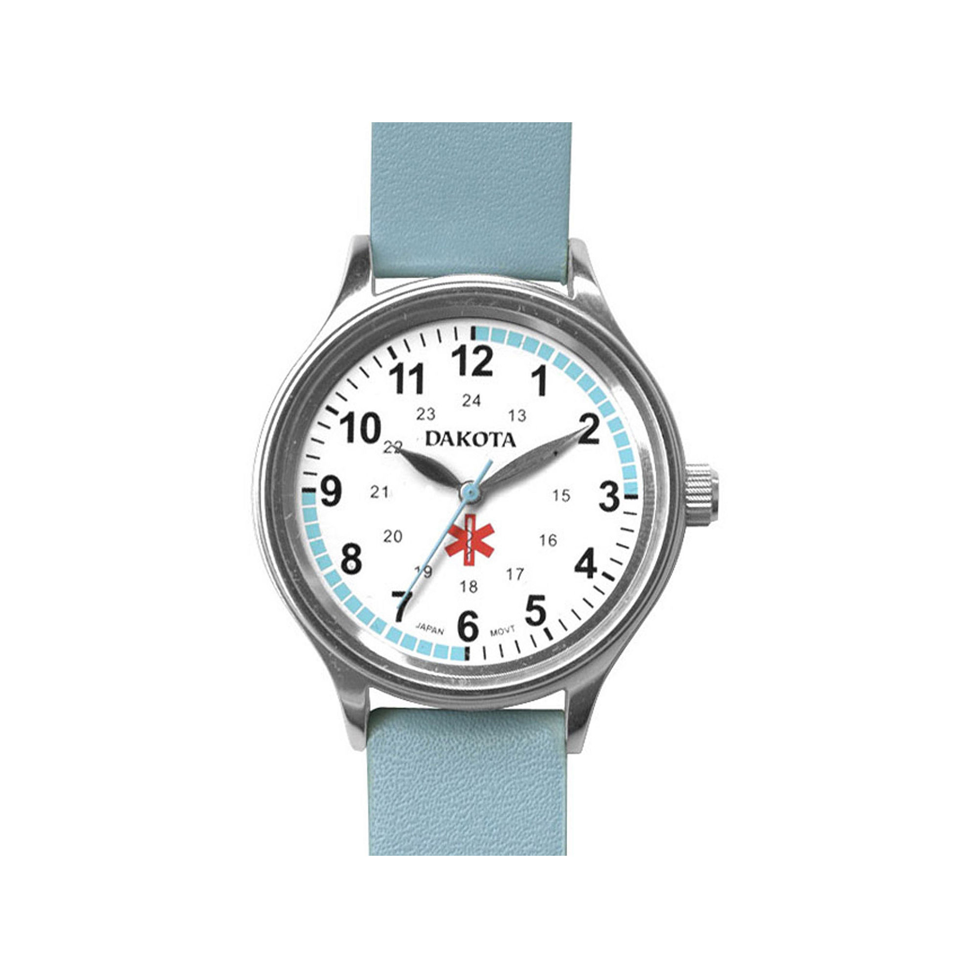 Dakota Women's Fun Color Nurse Watch, Light Blue
