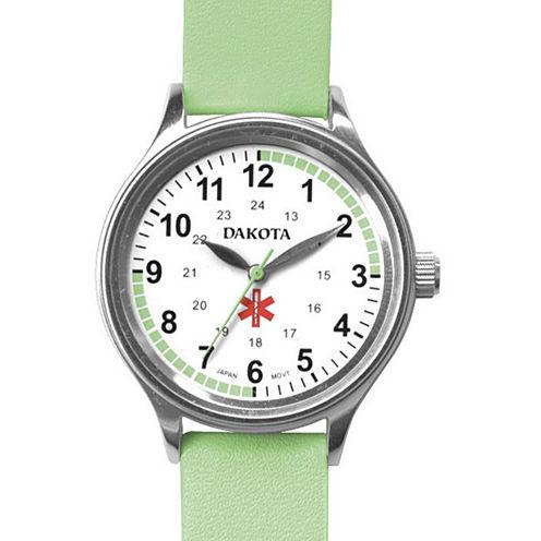 Dakota Women's Fun Color Nurse Watch, Light Green
