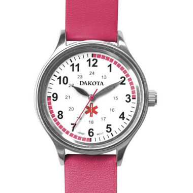 jcpenney.com | Dakota Women's Fun Color Nurse Watch, Pink