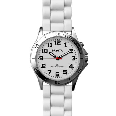 jcpenney.com | Dakota Women's Silicone Color Watch, White 53881