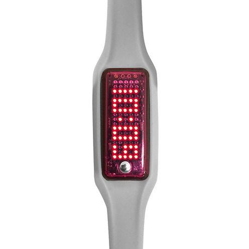 Dakota Smart Band Fitness Tracker, Grey and Pink Pocket Watch 2279