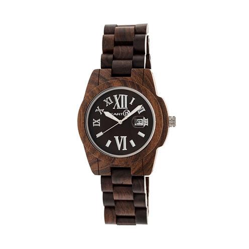 Earth Wood Brown Bracelet Watch