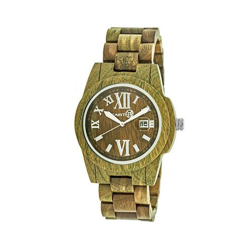 Earth Wood Olive Bracelet Watch