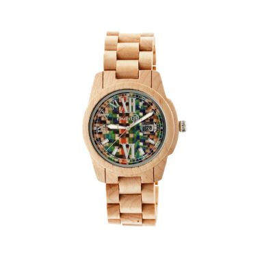 jcpenney.com | Earth Wood Khaki Bracelet Watch
