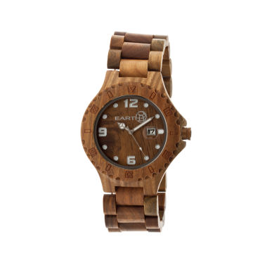 jcpenney.com | Earth Wood Raywood Olive Bracelet Watch With Date Ethew1704