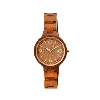 jcpenney.com | Earth Wood Nodal Olive Bracelet Watch with Date ETHEW2004