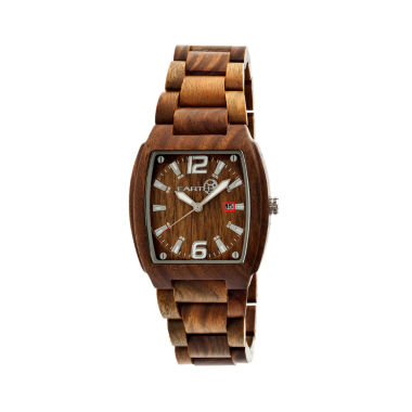 jcpenney.com | Earth Wood Sagano Olive Bracelet Watch with Date ETHEW2404