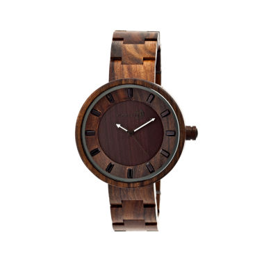 jcpenney.com | Earth Wood Root Dark Brown Bracelet Watch ETHEW2502