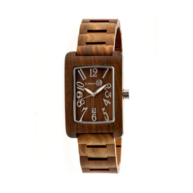 jcpenney.com | Earth Wood Trunk Olive Bracelet Watch with Date ETHEW2604