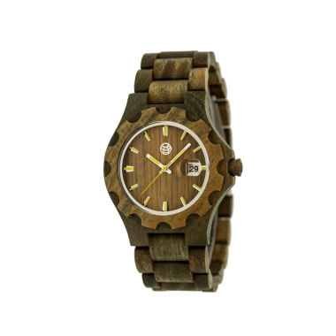 jcpenney.com | Earth Wood Gila Olive Bracelet Watch with Date ETHEW3304