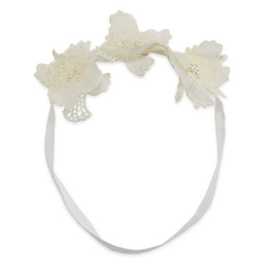 jcpenney.com | Mixit™ Flower with Simulated Pearl Fabric Headband