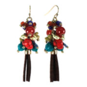 Aris by Treska Tassle Cluster Earrings