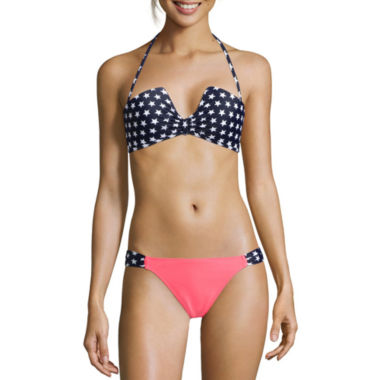 jcpenney.com | Arizona American Spirit Bandeau Swim Top or Hipster Swim Bottoms - Juniors