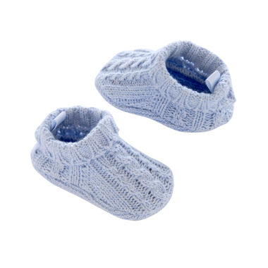 jcpenney.com | Carter's® Cable Booties - Baby Boys