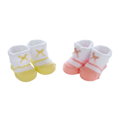 jcpenney.com | Carter's® Folded Cuff 2-pk. Mary Jane Booties - Baby Girls newborn-24m