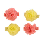 Carter's® 4-pk. Chiffon Plume Hair Clips - Baby Girls newborn-24m